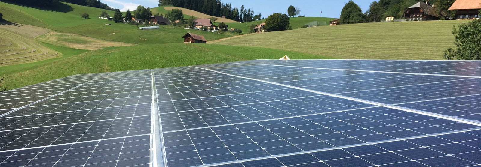 Solarstrom mit modernster Technik