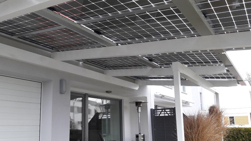 Projekt 5 – Solarterrasse