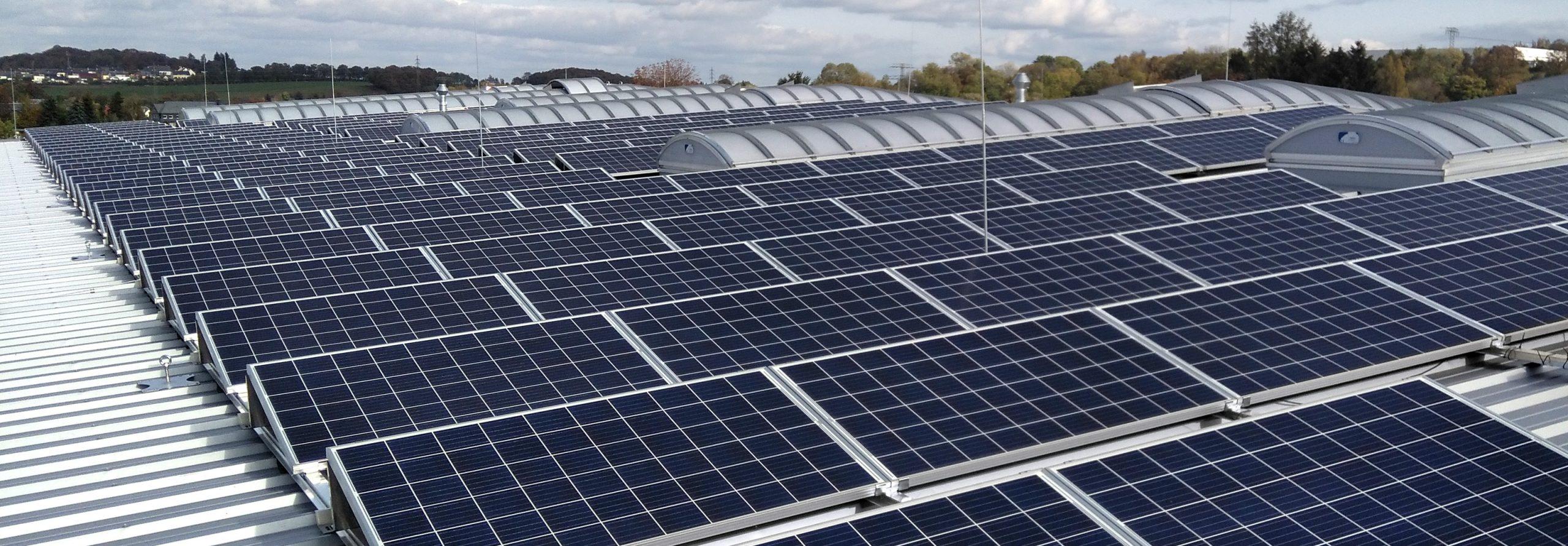 Solarenergie – Großprojekte für Unternehmen